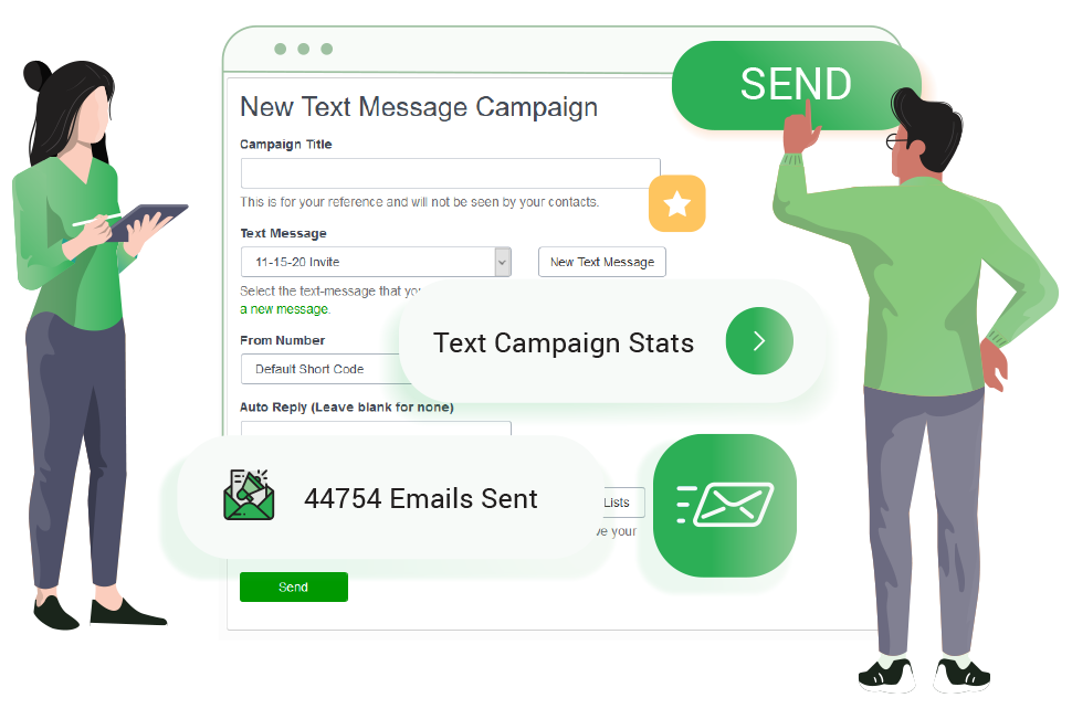 Email and Text Message Marketing Features - EnFlyer